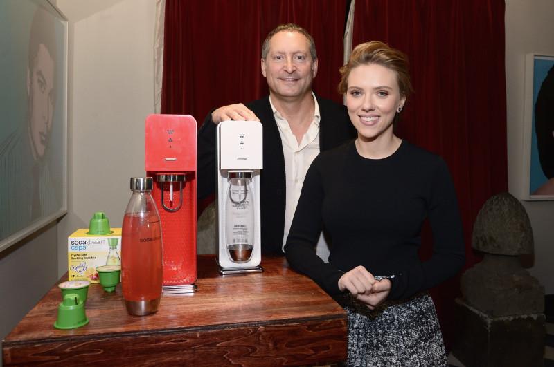 Scarlett Johansson SodaStream Partnership
