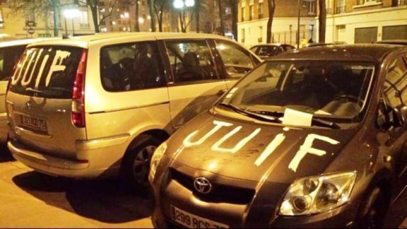 MàJ : Il aurait tagué le mot «Juif» sur des voitures… pour changer de HLM