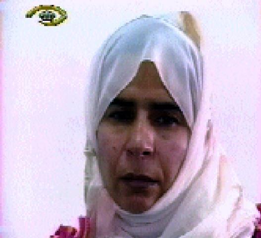 La terroriste Sajida Mubarak al-Rishawi