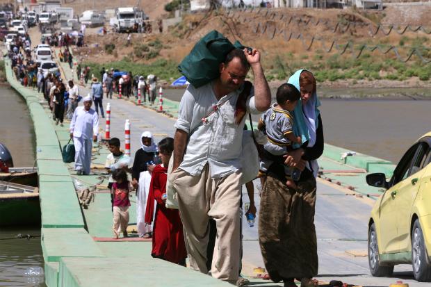Lâcheté occidentale : Mais qu'est-ce qui nous empêche de faire un pont aérien pour sauver les chrétiens d'Orient ?