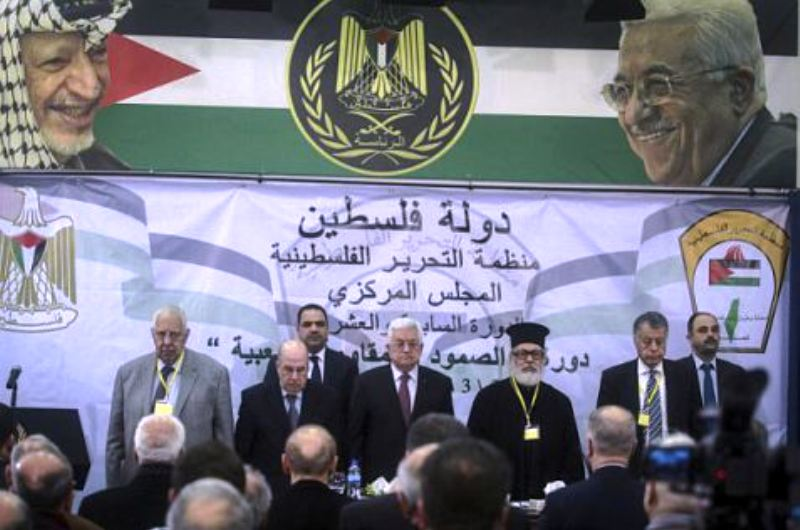 L'OLP veut suspendre la coordination sécuritaire avec Israël, soutenir le terrorisme et l'Intifada à Jérusalem. Il n'y aura donc pas d'Etat palestinien