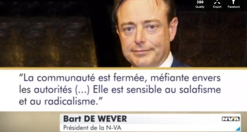 [Vidéo] Le bourgmestre d'Anvers «la communauté marocaine est fermée, et sensible au salafisme et au radicalisme»