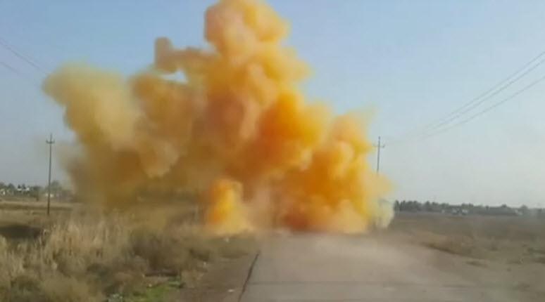 [Vidéo] L'Etat islamique utilise du chlore comme arme chimique contre les kurdes