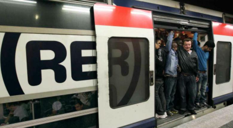 Juvisy: une rame du RER D dépouillée par une trentaine de «chance pour la France»