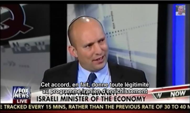 [Vidéo] Iran/Naftali Bennett : « Les missiles iraniens mettent autant en danger les Etats-Unis et l'Europe qu'Israël»