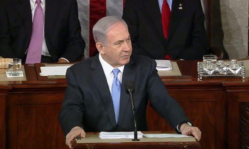 Benyamin Netanyahou au Congrès