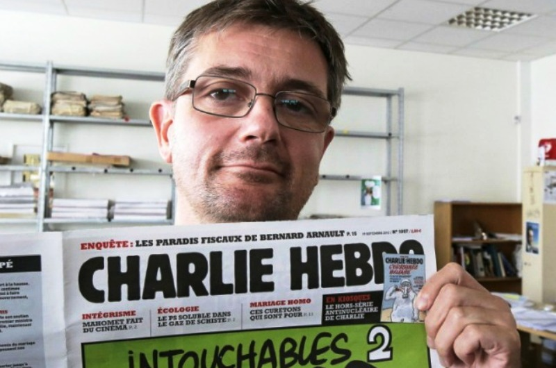Choquant : Le personnel de Charlie Hebdo reçoit à titre posthume 'Le prix d'Islamophobe International de l'Année 2015'