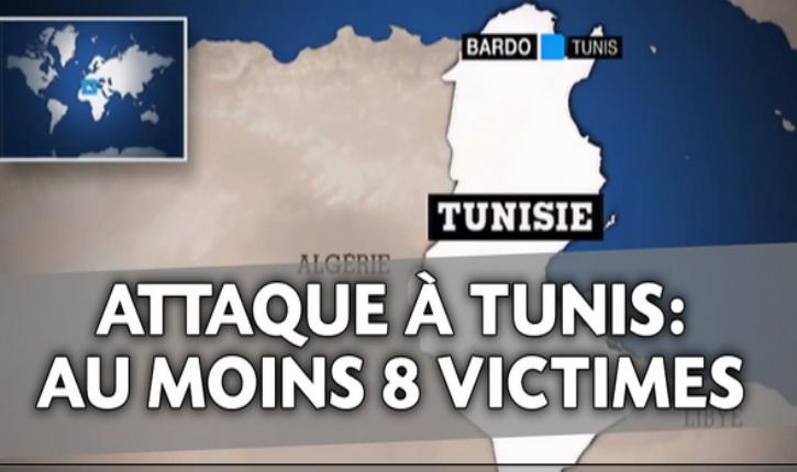 [Vidéos] Tunisie/prise d'otages : au moins 8 morts dont 7 étrangers au musée du Bardo dans une attaque terroriste