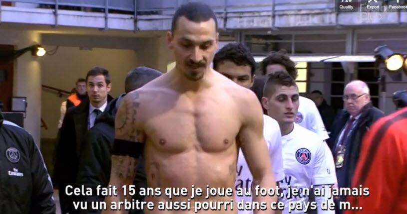 [Vidéo] Zlatan Ibrahimovic «La France est pays de merde»