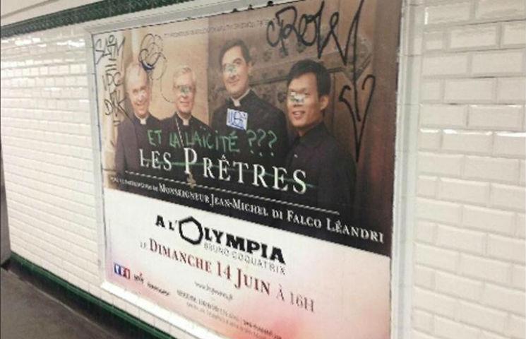 Paris : la RATP refuse les affiches annonçant le concert des Prêtres pour les Chrétiens d'Orient au nom de la laïcité