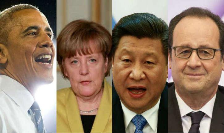 Quel est le salaire des dirigeants des douze premières puissances mondiales ?
