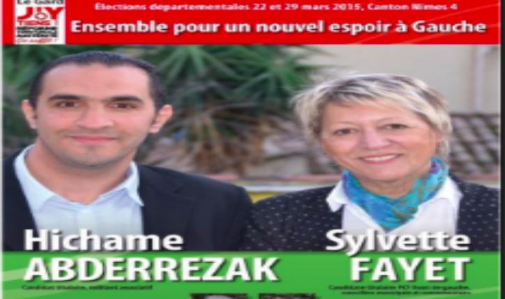 Un candidat Front de Gauche affiche son soutien aux Frères Musulmans