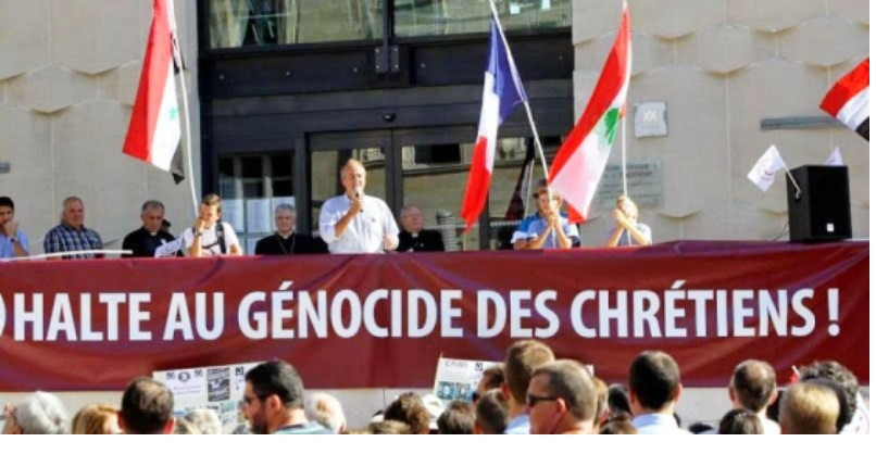 «J'accuse l'Occident de complicité avec l'Islam pour génocide contre les chrétiens d'Orient.»