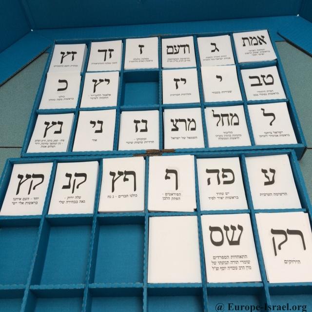 israel 2015 bulletins de vote