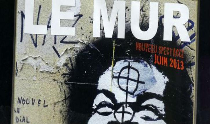 La justice interdit la vente du DVD du spectacle 'Le Mur' de l'antisémite Dieudonné