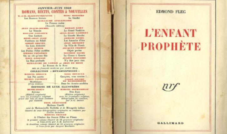 L'enfant prophàte Edmond Fleg Capture