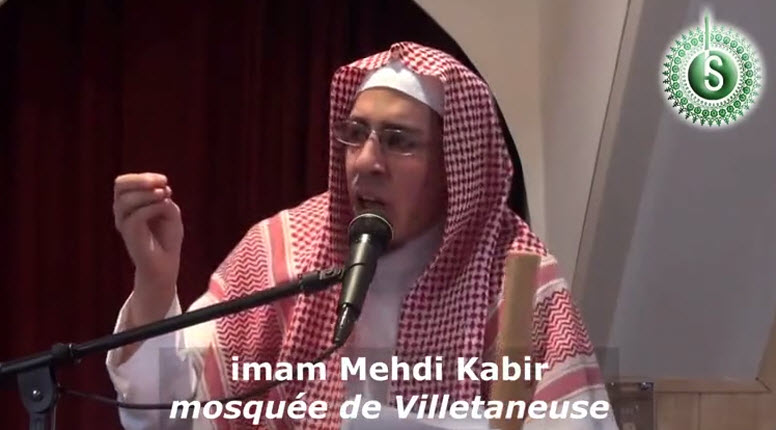 """[Vidéo] France, prêche d'un prédicateur musulman """"Celui qui mange du porc a tendance à avoir le comportement d'un porc"""". A écouter jusqu'au bout…"""