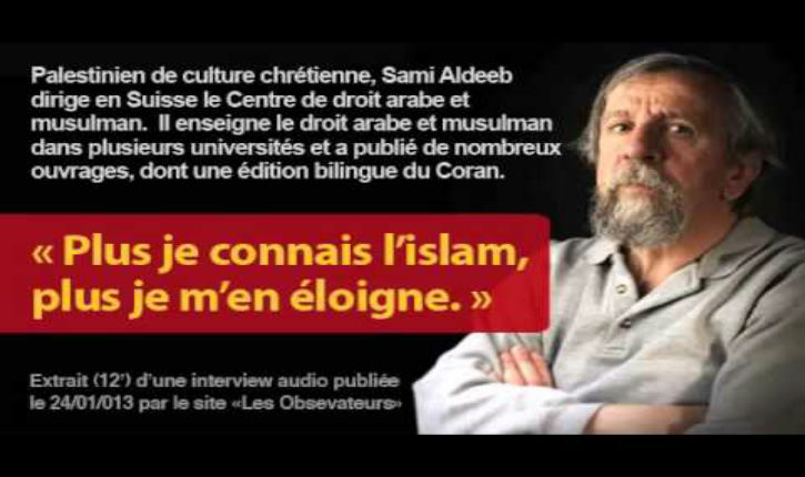 Sami Aldeeb Abu-Sahlieh : «Seule la vérité pourra sauver les musulmans»