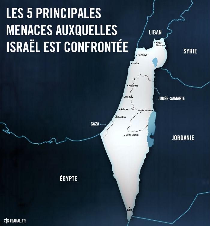 5 menaces israel