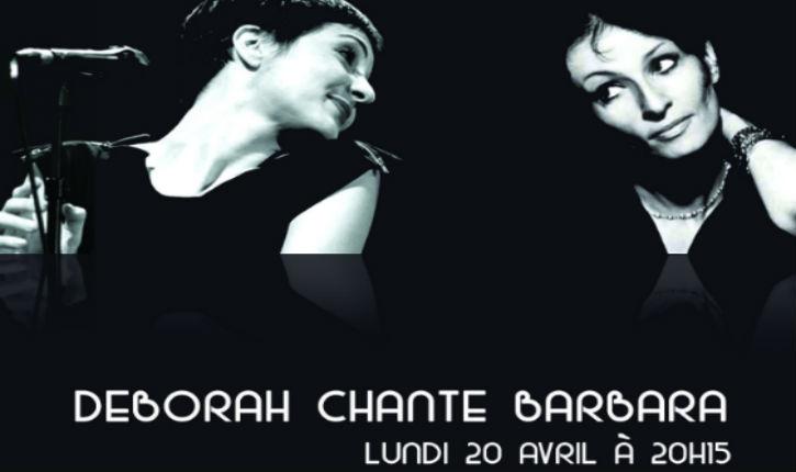 KISSRAEL : Déborah chante Barbara, nouvelle représentation à Tel Aviv