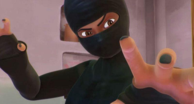 Burka Avenger, l'héroïne musulmane et féministe, débarque en Inde