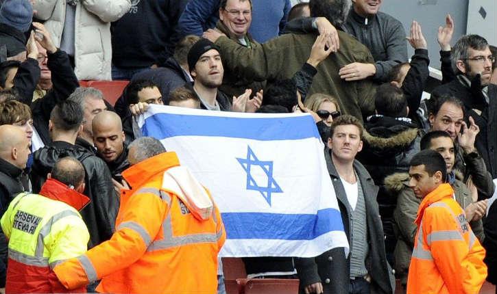 La police de Berlin présente ses excuses après avoir interdit un drapeau israélien dans un stade