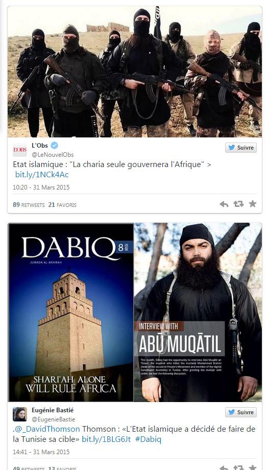 Etat islamique Tunisie