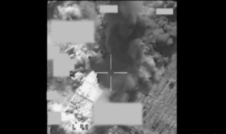 [vidéo] Irak: Destruction d'un hangar de l'Etat islamique par deux F-16 belges