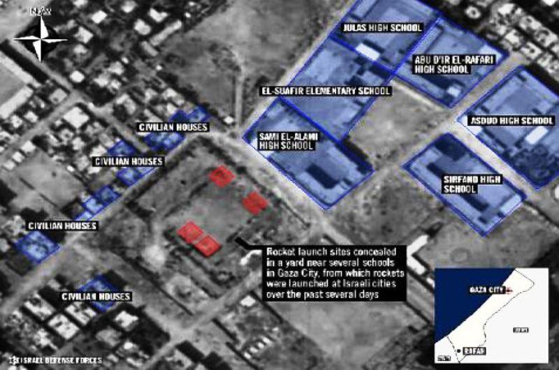Les Nations Unies finissent par reconnaître l'évidence : à Gaza, des écoles et bâtiments de l'ONU, sont utilisés par les terroristes du Hamas