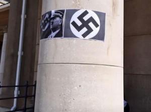 Affiches de croix gammées dans un campus sud africain