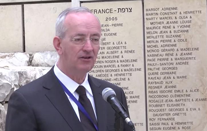 Des élus français honorent les Justes à Jérusalem