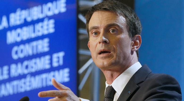 Racisme et antisémitisme : Valls présente 40 mesures de 100 millions d'euros sur trois ans