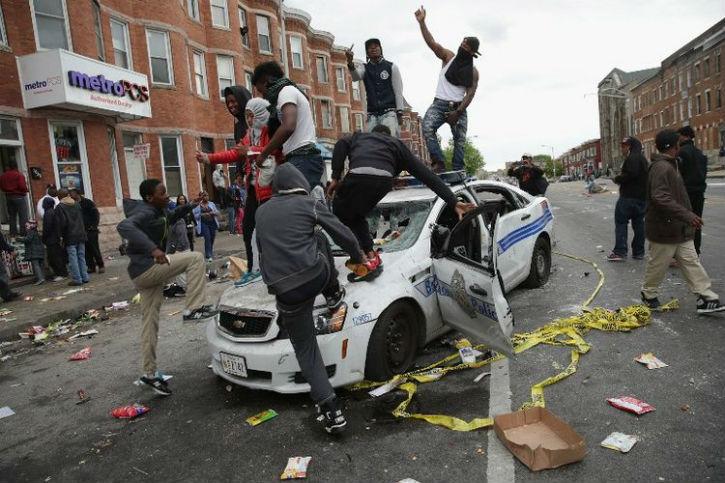 [Vidéo] Etat d'urgence décrété à Baltimore aux Etats-Unis