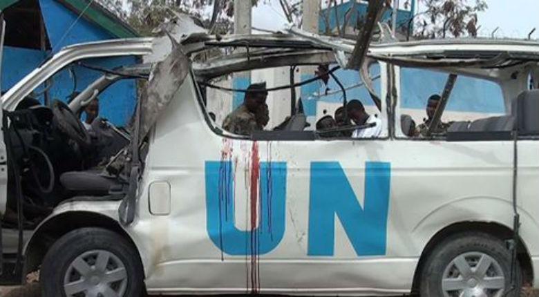 Somalie: attentat islamiste contre un minibus de l'ONU, au moins 9 morts