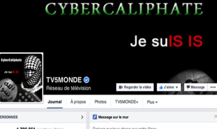 [Vidéos] Écran noir : des islamistes piratent TV5 Monde et menacent la France