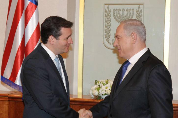 Le sénateur Ted Cruz, candidat à la présidence des Etats Unis, souhaite qu'Israël annexe la Judée Samarie