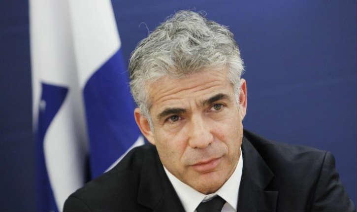 Israël: Yaïr Lapid proteste contre la signalisation des produits de Judée-Samarie