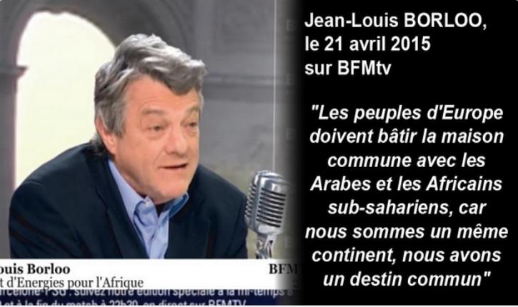 [Vidéo] Jean Louis Borloo: Nous devons bâtir la maison commune avec les arabes et les africains