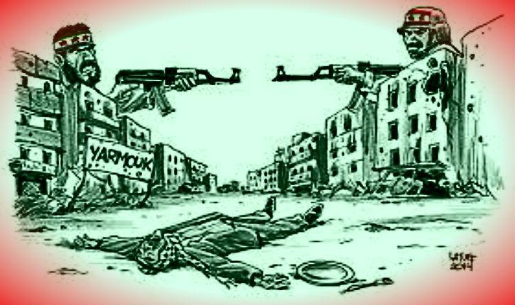 Où est passée l'indignation du journal « Le Monde » en faveur des arabes-palestiniens qu'ISIS assassine en Syrie ?