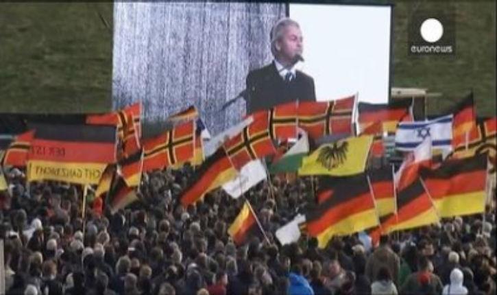 Discours de Gert Wilders à Dresde : «Chers amis patriotes allemands, regardez Israël, apprenez d'Israël»