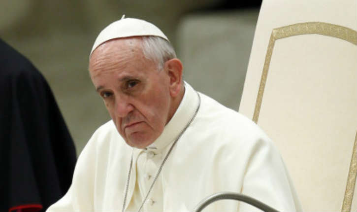 Le pape François, hausse le ton: «le silence complice» et «l'indifférence» devant la «furie jihadiste»