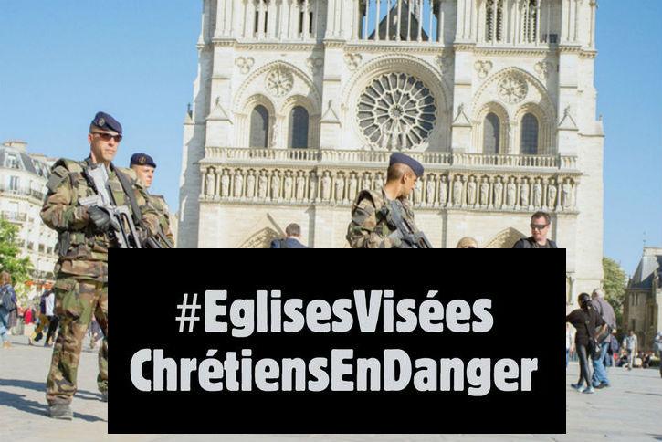 Menace d'attentats islamistes : les églises désormais sous surveillance