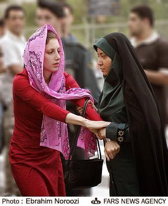 police des moeurs -iran