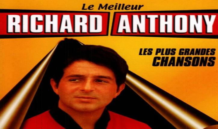 Le chanteur Richard Anthony est mort