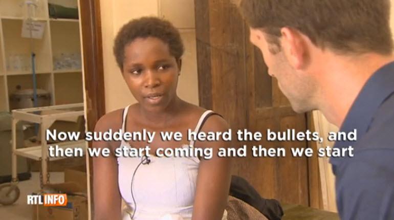[Vidéo] Une survivante de l'attaque au Kenya témoigne : elle s'est cachée 50 heures dans une penderie
