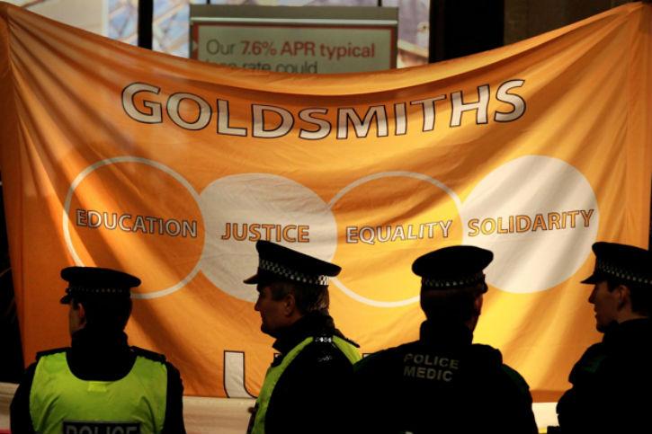 Angleterre : à l'université de Goldsmith, une réunion anti-raciste interdite aux Blancs et antisioniste…