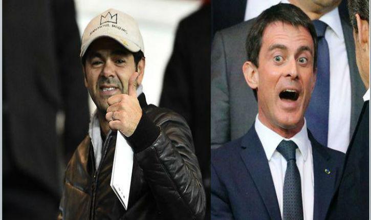 Valls pense à «intégrer l'art de l'improvisation que porte Jamel Debbouze» à l'école