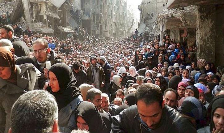 [Vidéo] Damas : L'Etat islamique à six kilomètres de la résidence présidentielle, l'étau se resserre sur El-Assad
