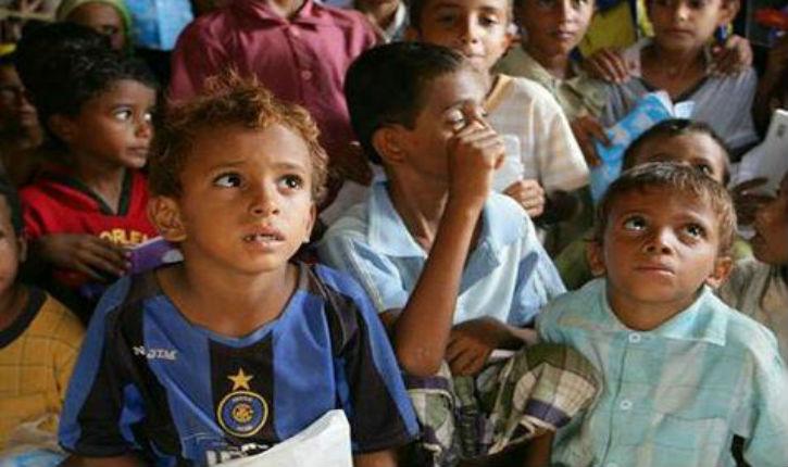 Unicef : Au moins 62 enfants tués depuis une semaine dans les bombardements au Yémen