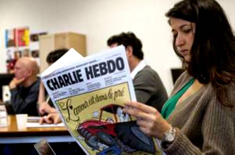 Bon débarras : Charlie Hebdo licencie la propalestinienne Zineb El Rhazaoui